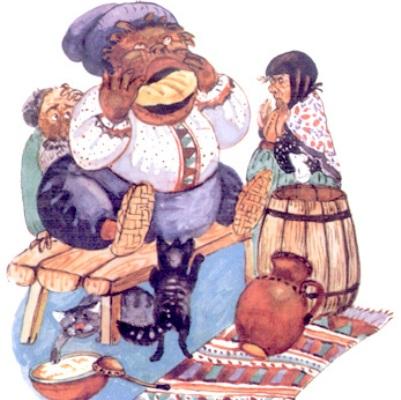 Глиняный парень (русская сказка)